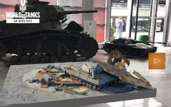 Gamescom 2018: Zápasy World of Tanks môžete sledovať v rozšírenej realite