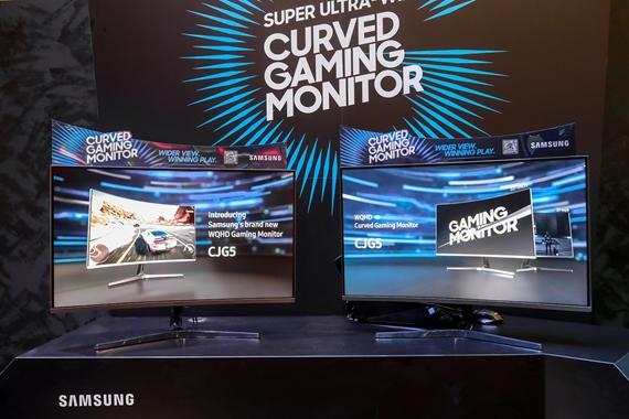 Samsung na Gamescom priniesol nový zakrivený monitor CJG5