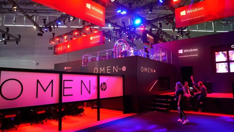 HP prišlo na Gamescom 2018 pripravené, ukázali novú Omen sériu, nechýbali RTX 2080ti karty