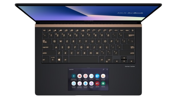 Asus na IFA výstave približuje svoj  Zenbook Pro 14 notebook so screenpadom
