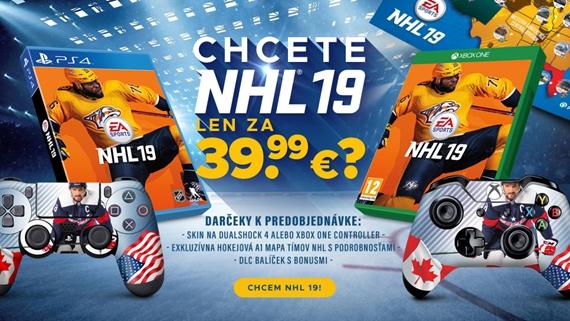 NHL 19 len za 39,99 eur opäť v ProGamingShop.sk