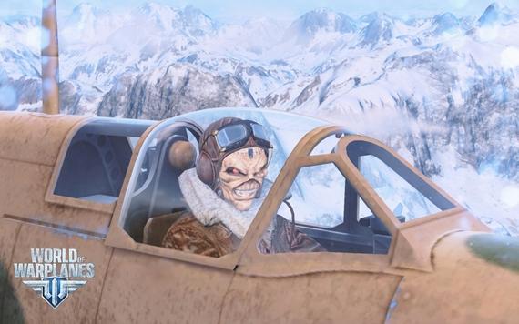 Spolupráca World of Warplanes a Iron Maiden pokračuje, Eddie prichádza do hry