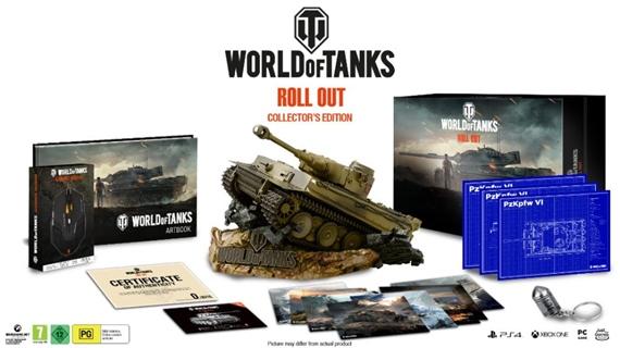 Unikátna zberateľská edícia World of Tanks ponúka maketu Tigra a ďalšie lákadlá