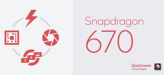 Snapdragon 670 procesor predstavený