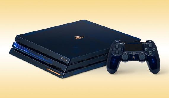 Sony predstavilo limitovanú PS4 Pro k 500 miliónom predaných PlayStation konzol