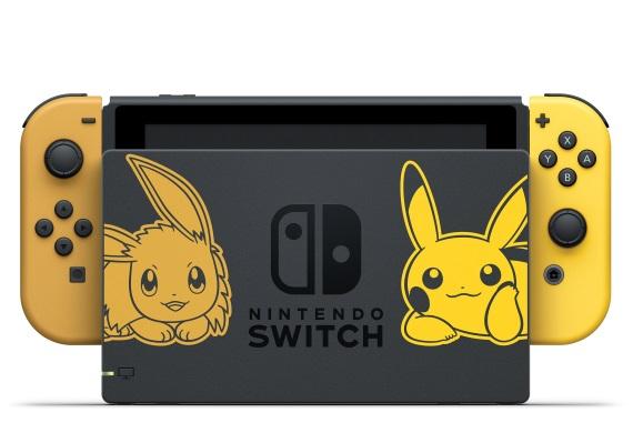 Switch dostane špeciálnu verziu k novým Pokémon Let's Go hrám