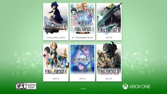 Nové Final Fantasy hry prichádzajú na Xbox One a Switch
