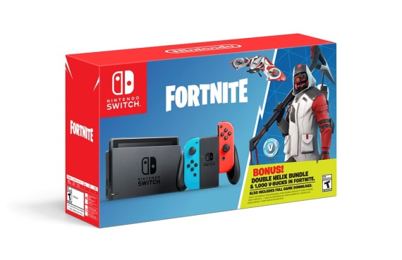 Switch dostane bundle s Fortnite
