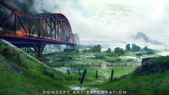 Ukážky konceptov z niekoľkých máp v Battlefield V