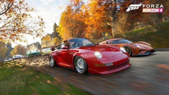 Forza Horizon 4 dostáva recenzie, hodnotenia idú vysoko