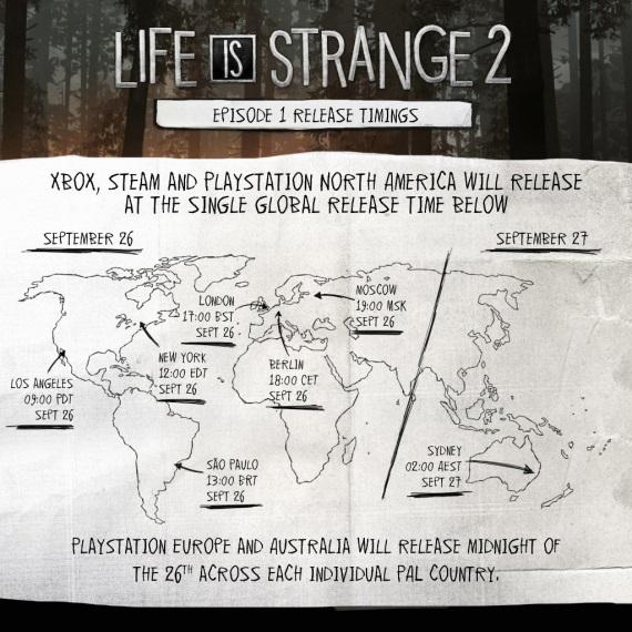 Vydanie prvej epizódy Life is Strange 2 naplánované