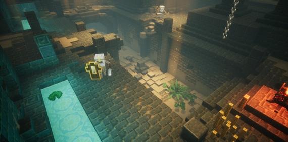 Mojang ohlásil Minecraft: Dungeons, novú hru v Minecraft univerze