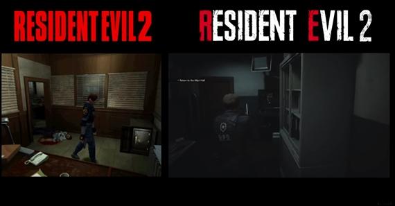 Porovnanie Resident Evil 2 vs Resident Evil 2 remake