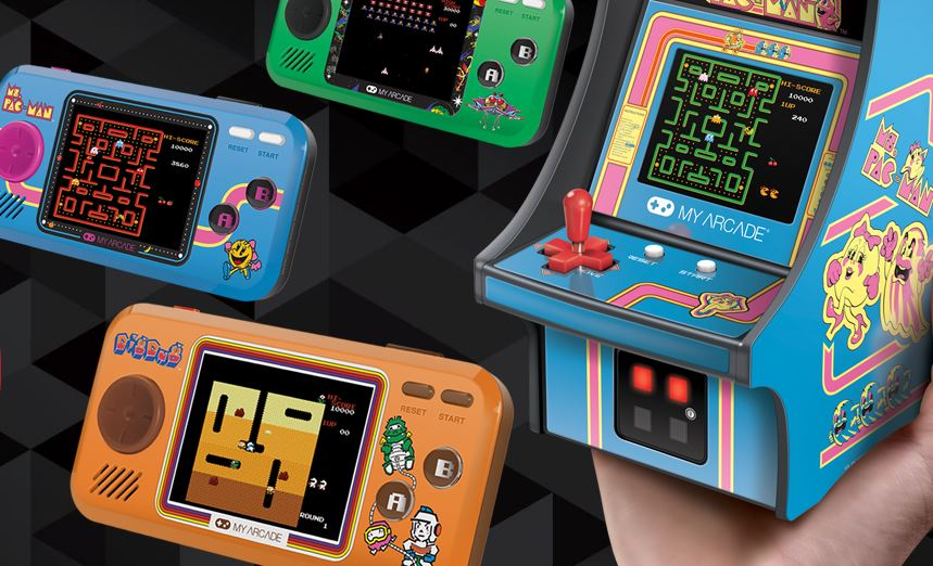 My Arcade na CES predstavili ponuku retro konzol a mini automatov 65475b9741