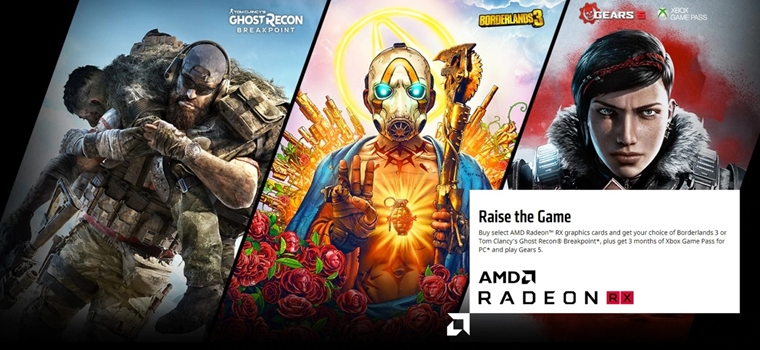 AMD pribaľuje k svojim procesorom a grafikám Ghost Recon Breakpoint a Borderlands 3