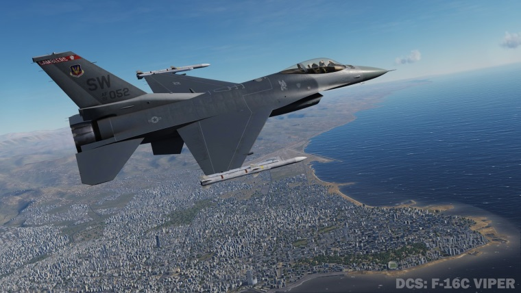 F-16C Viper prišla do DCS
