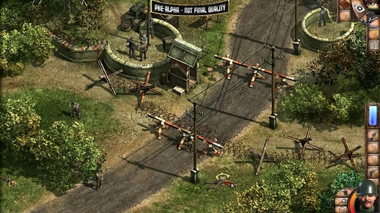 Commandos 2 a Praetorians HD remastre dostali beta test