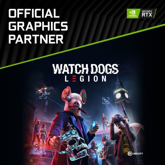 Watch Dogs Legion bude podporovať raytracing