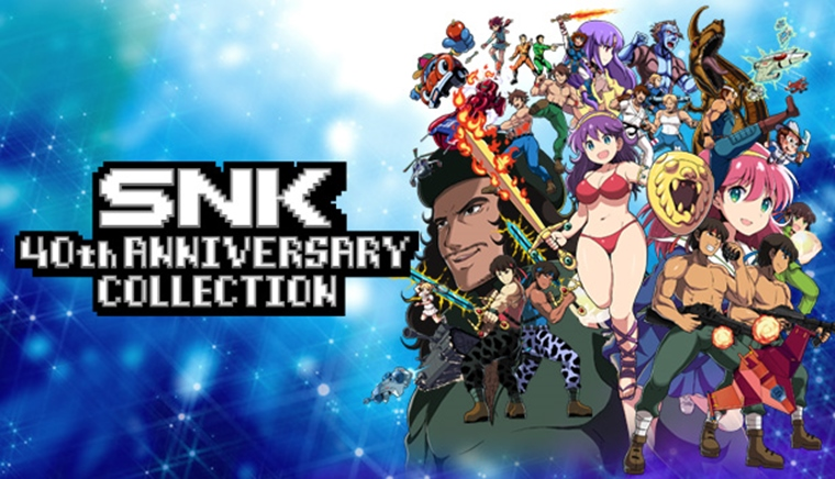 SNK 40th Anniversary Collection je už aj na Steame