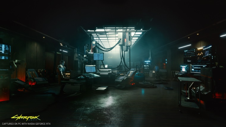 Cyberpunk 2077 použije raytracing na ambient occlusion a diffused illumination