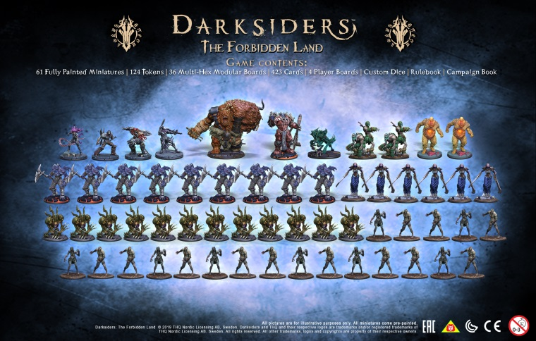 Darksiders dostane stolovú hru The Forbidden Land