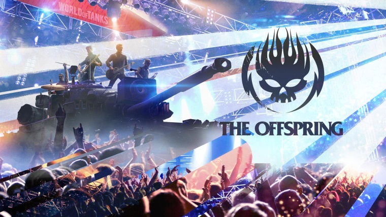 The Offspring odohrá koncert vo World of Tanks