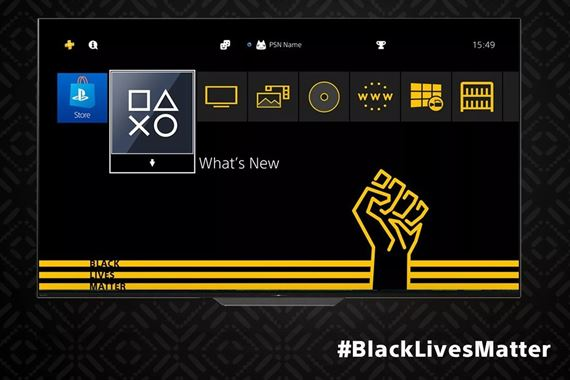Sony pridalo na PS4 Black Lives Matter tému
