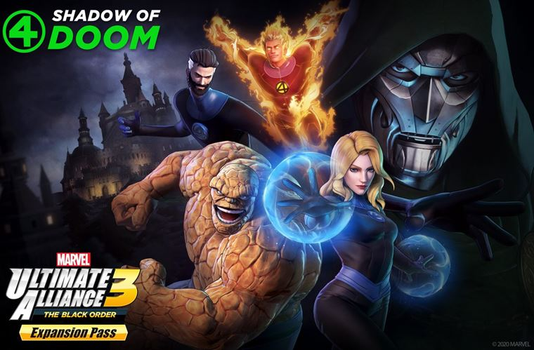 Do Marvel Ultimate Alliance 3 príde Fantastic Four