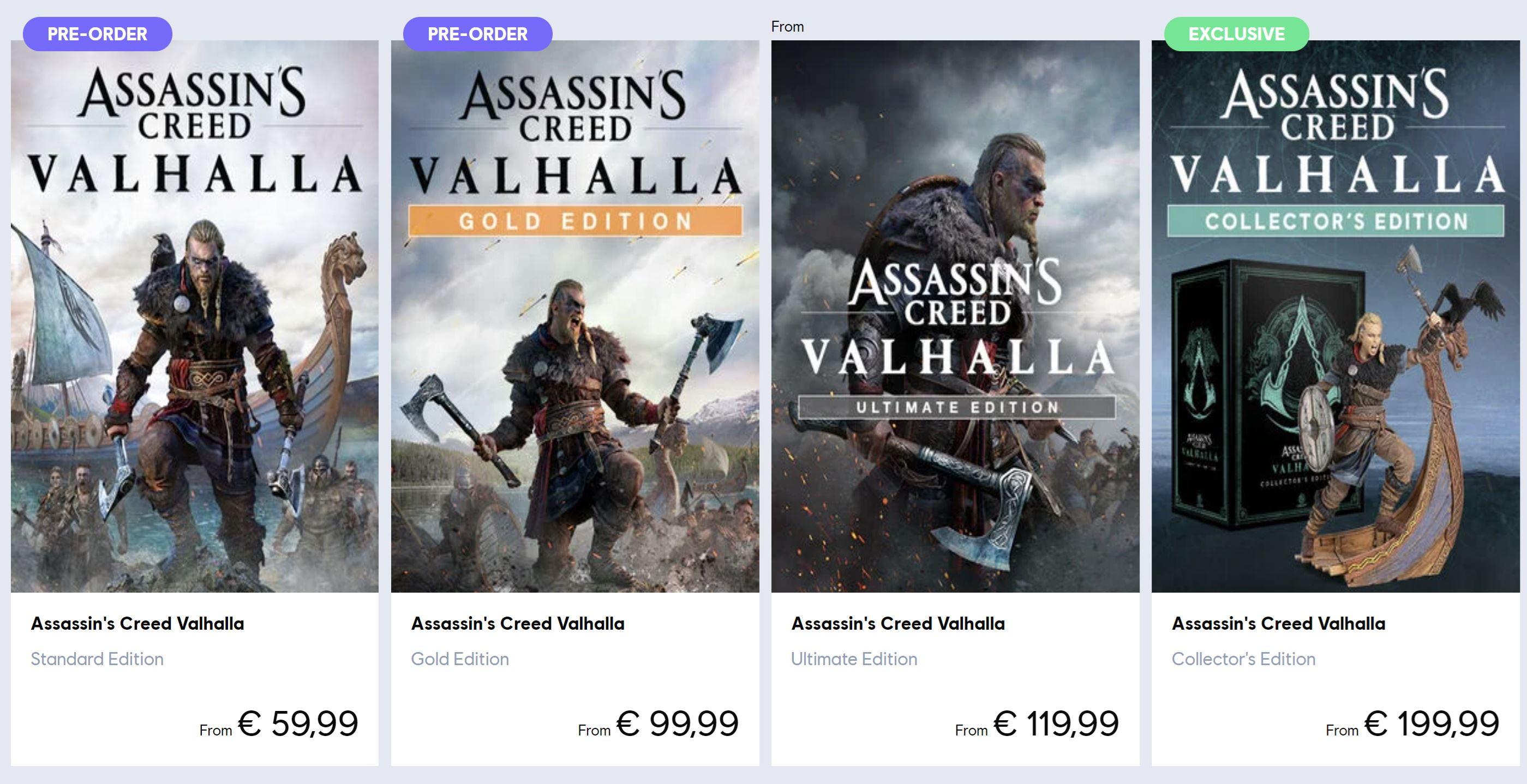 Ake Edicie Ponukne Assassins Creed Valhalla Sector
