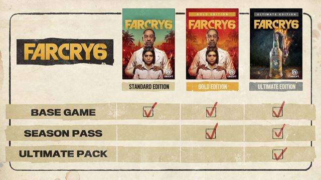 Far Cry 6 Showed His Editions And Bonuses To Pre Orders