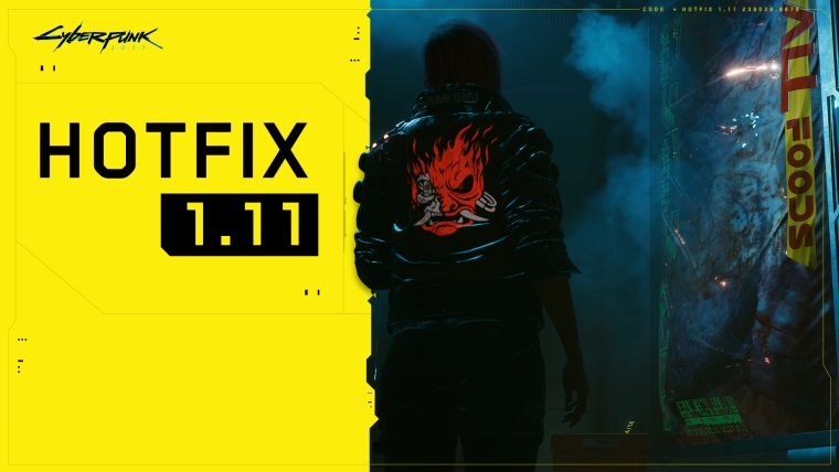 Cyberpunk 2077 dostal patch 1.11