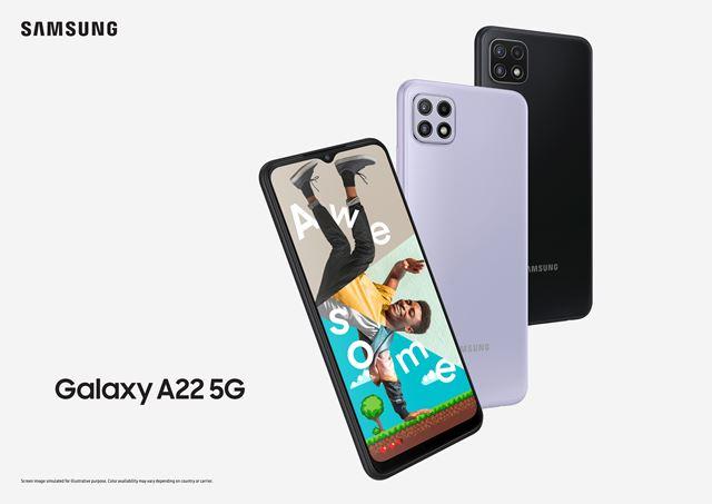 Samsung ha presentado los móviles Galaxy A22 y A22 5G
