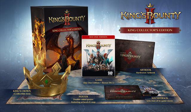 King's Bounty II muestra ed