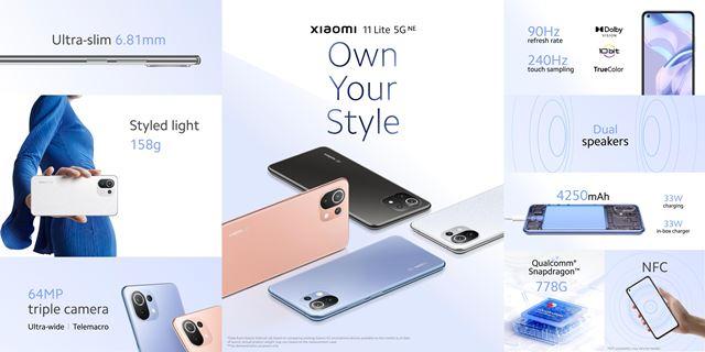 Xiaomi predstavilo Xiaomi 11T a Xiaomi 11T Pro a aj Xiaomi Pad 5