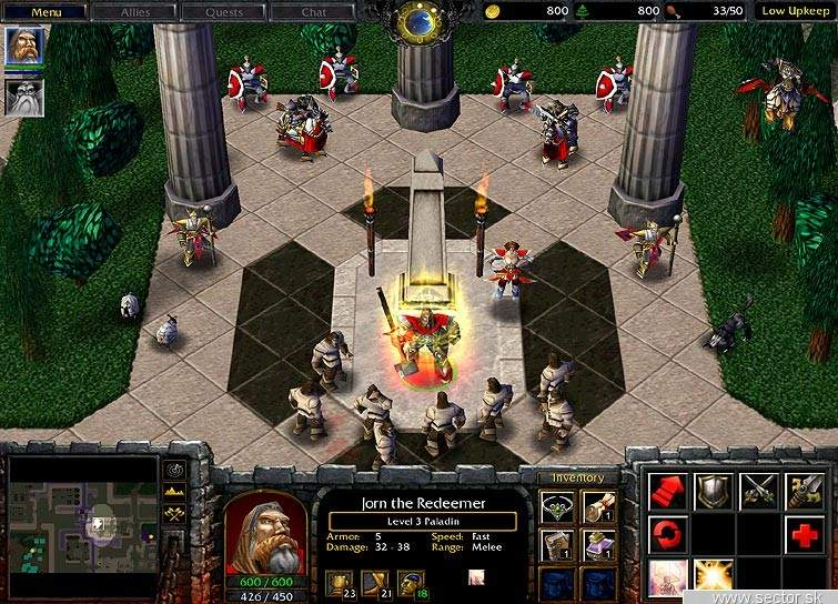 Warcraft III shot