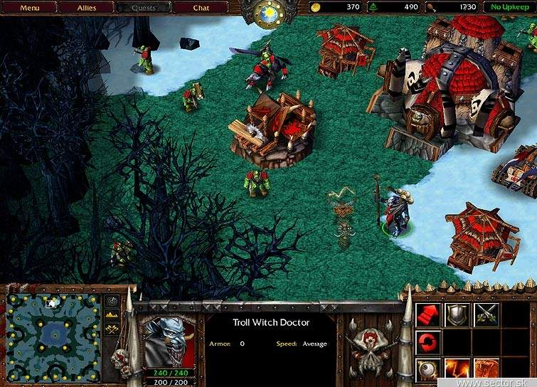 Warcraft III shoty