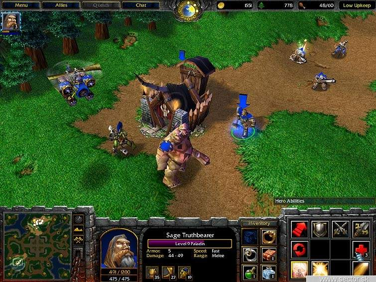 Warcraft III shots