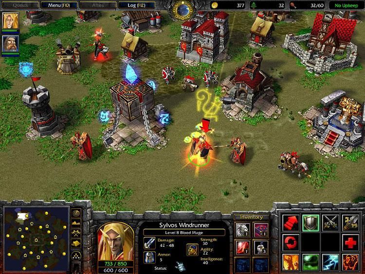Warcraft III addon