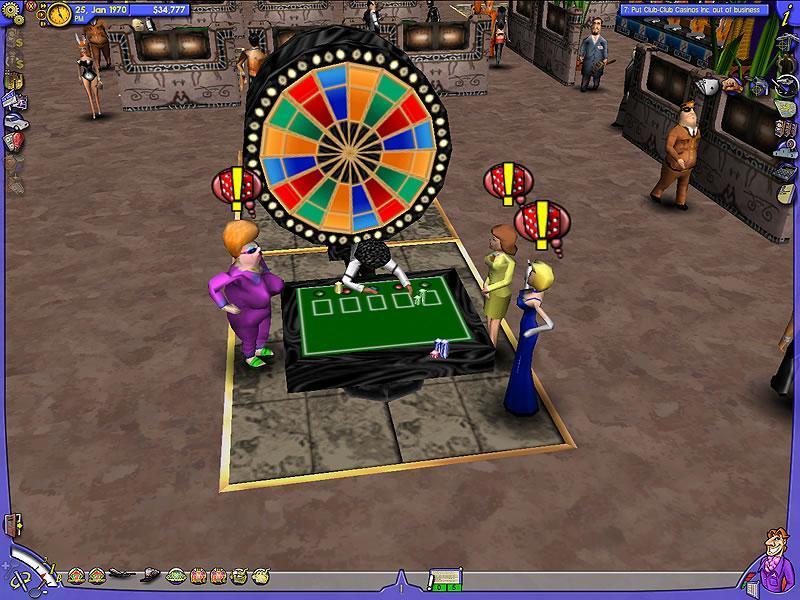 Casino inc. site - Sector