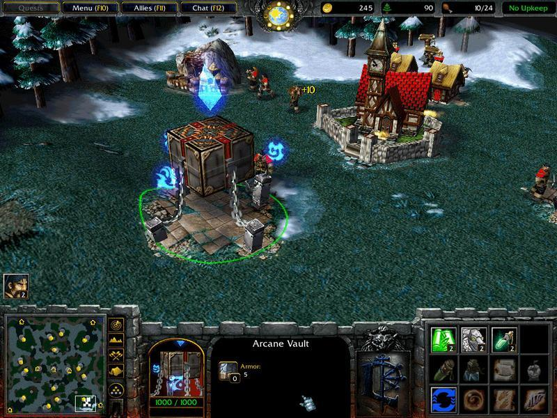 WarCraft III: The Frozen Throne shoty