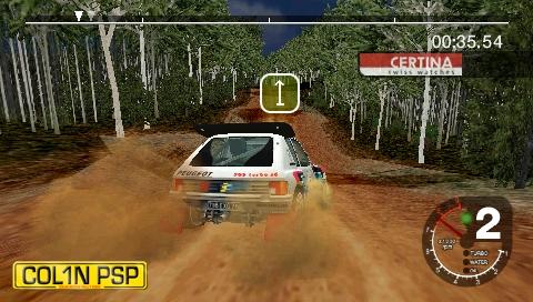 Colin McRae a TOCA Race Driver na handhelde PSP