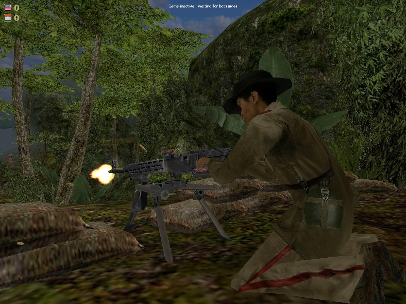 Vietcong mapa