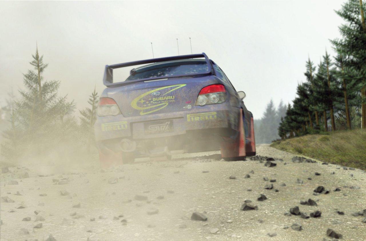 Colin McRae Rally 07 sa vracia