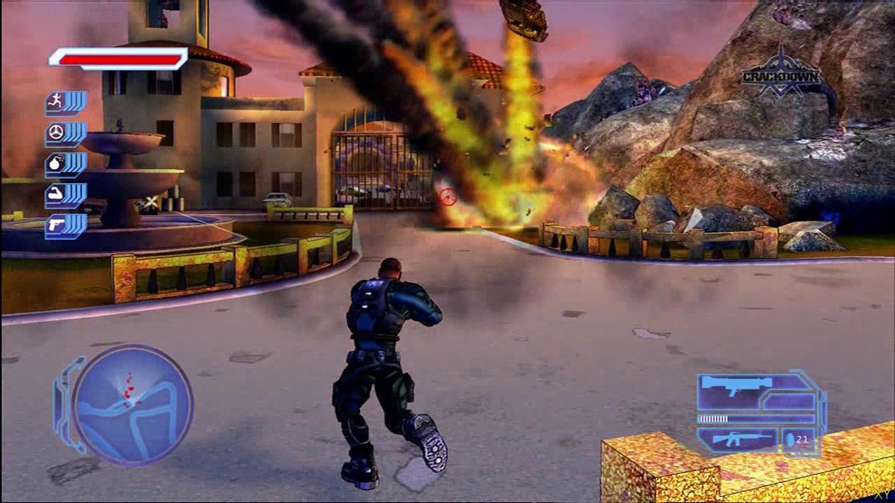 Crackdown - superherogta
