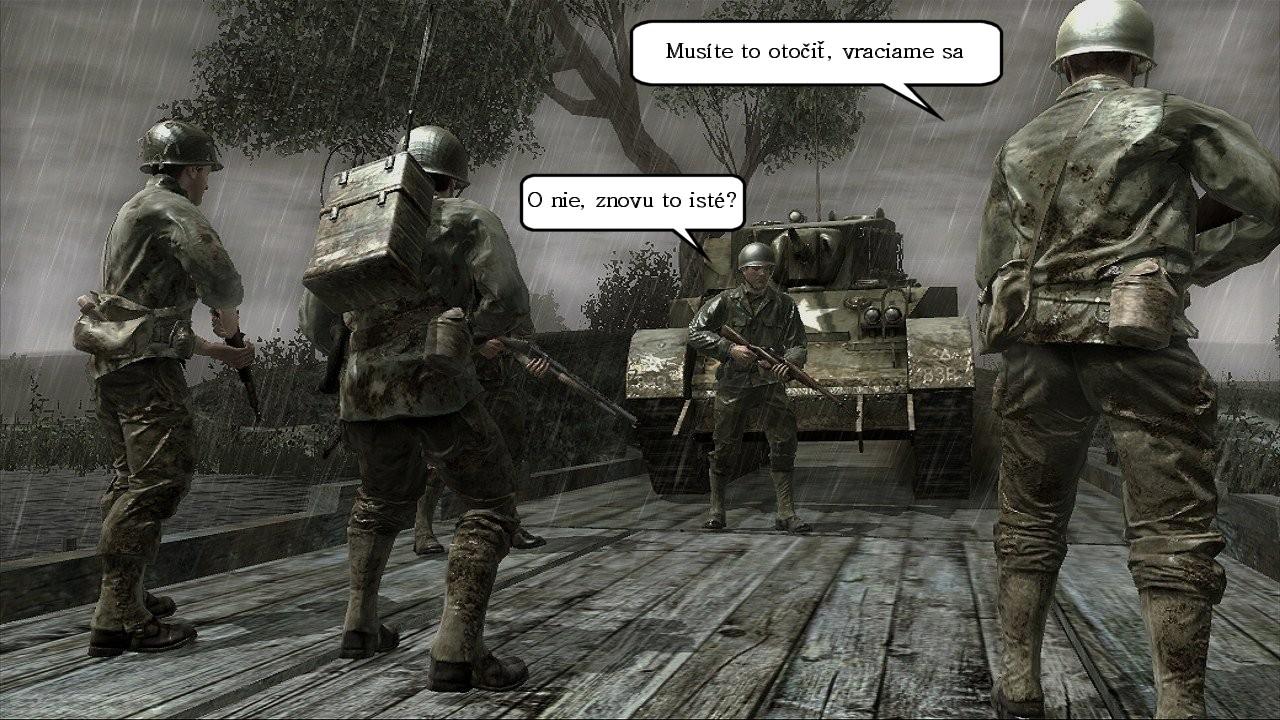 Call of Duty 5 - späť do WWII?
