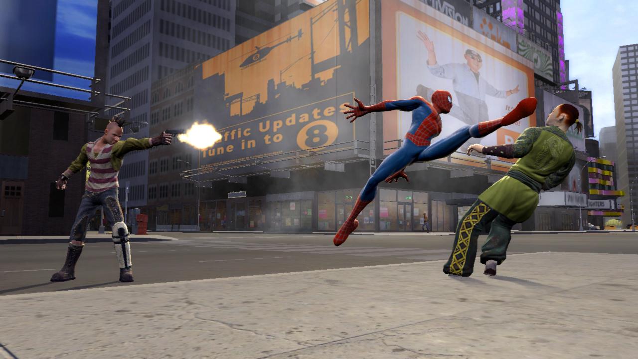 Spider-Man sa predvádza