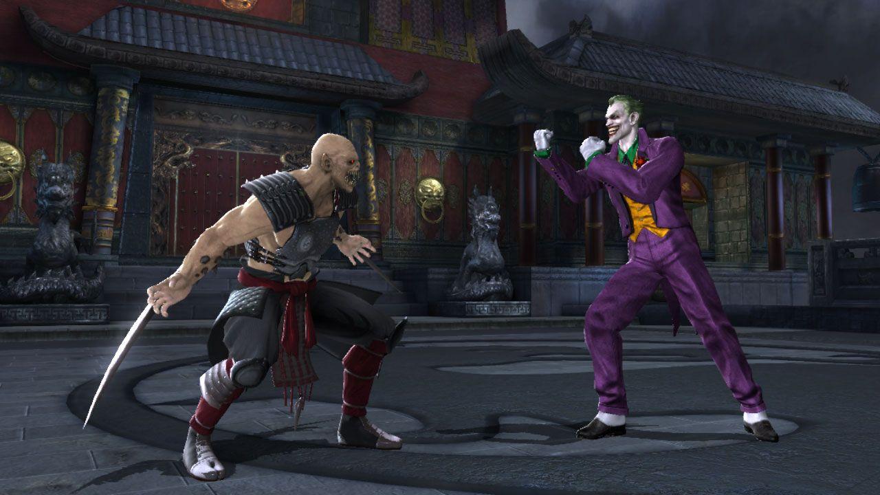 MK vs DC Universe, dvaja holohlaví na scéne