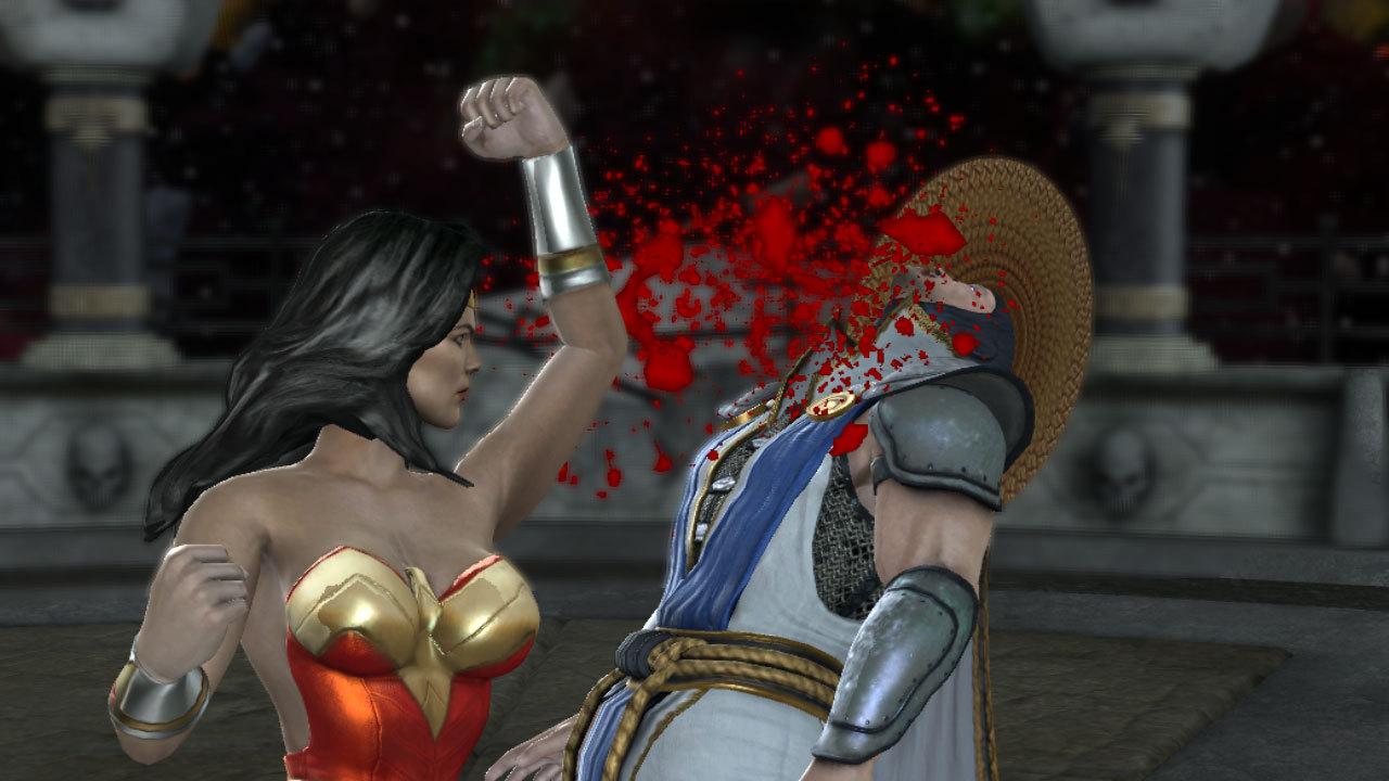 Mortal Kombat vs DC Universe vo videách