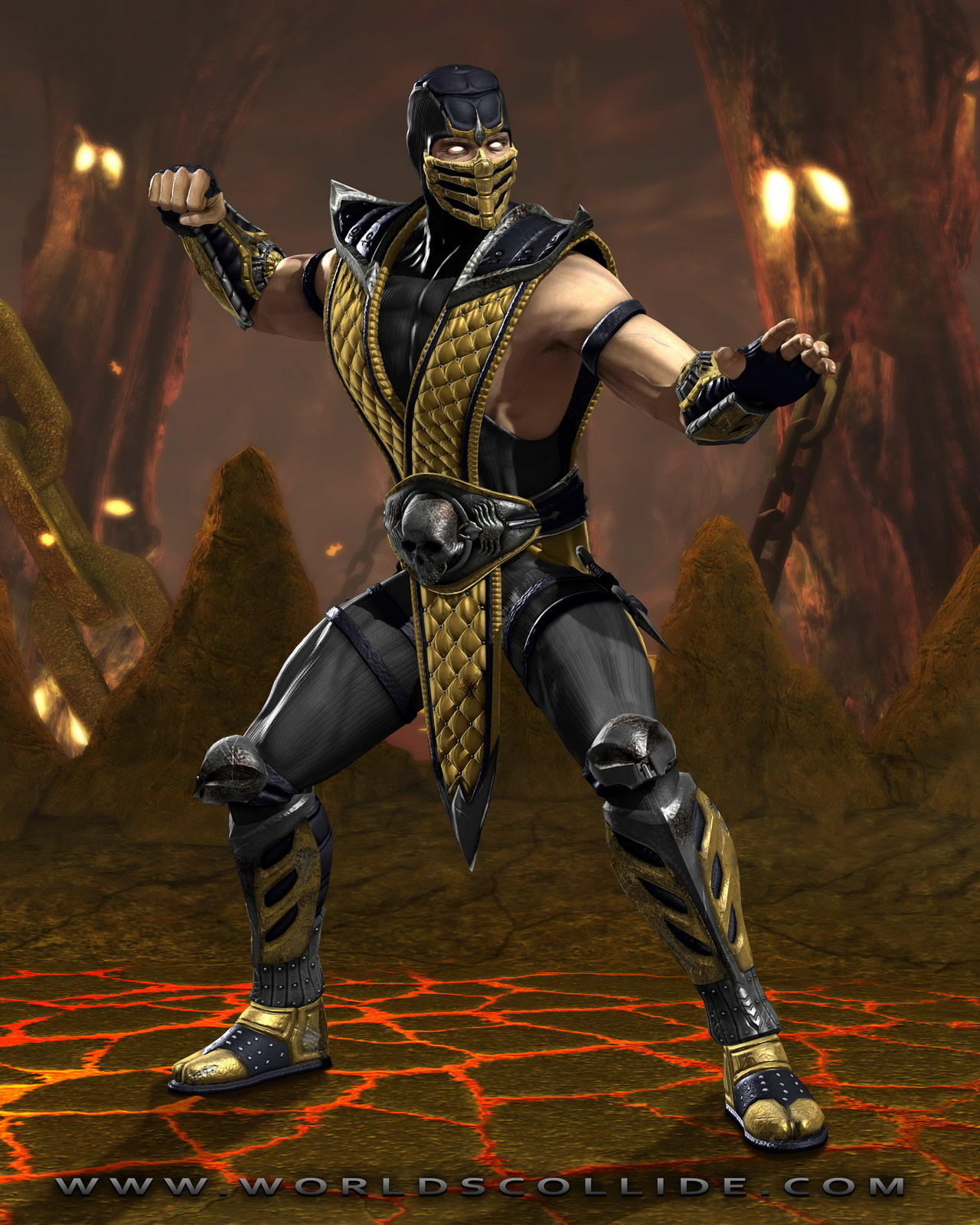 Mortal Kombat vs DC Universe artworky