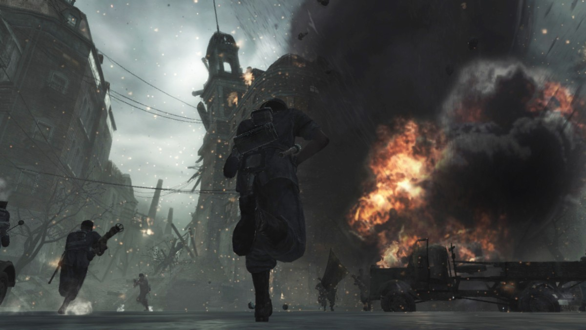 Call of Duty : World At War ukazuje pravú tvár